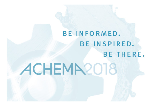 ACHEMA 2018 Congress