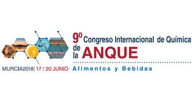 9º Congreso Int. De Química de la ANQUE Alimentos y Bebidas