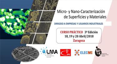 Curso de Micro- y Nano-Caracterización de Superficies y Materiales