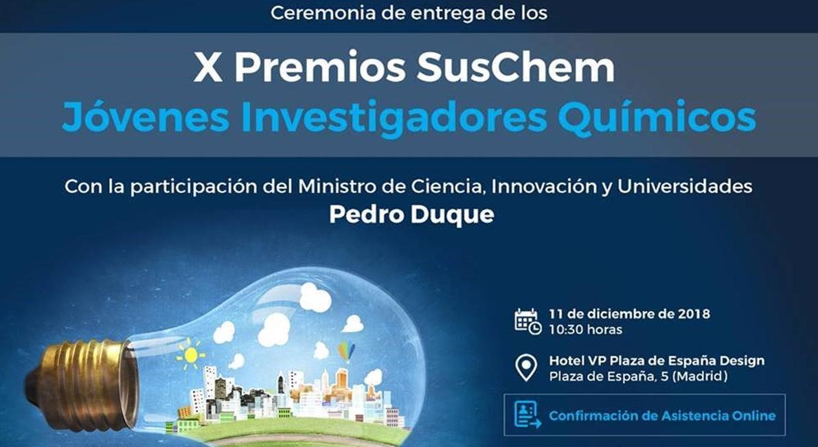 Entrega de los X Premios SusChem, JIQ
