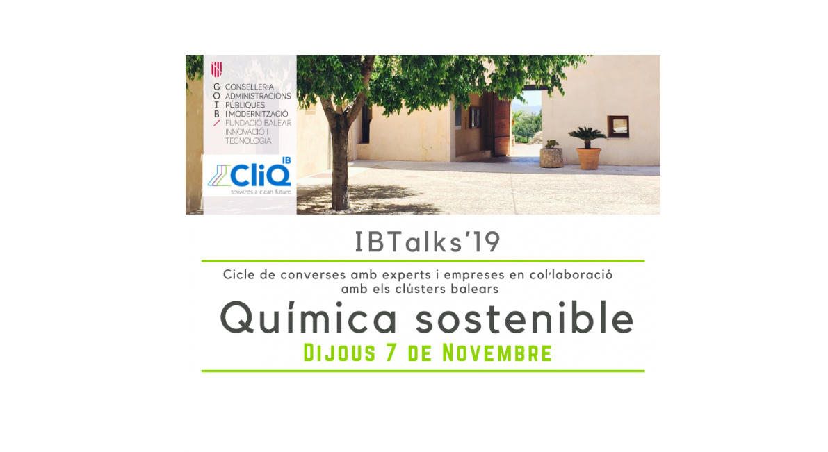 IBtalks'19: Química Sostenible