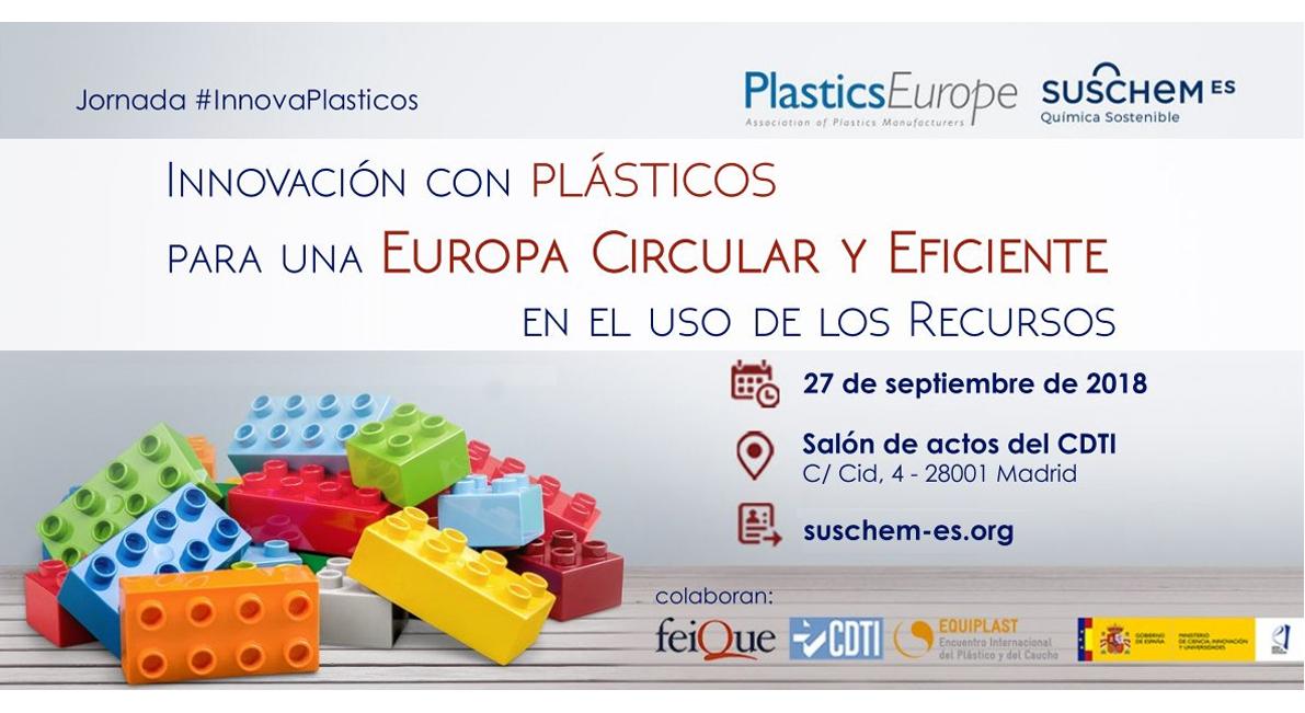 Jornada  Innovación con plásticos para una Europa Circular y eficiente en el uso de los recursos