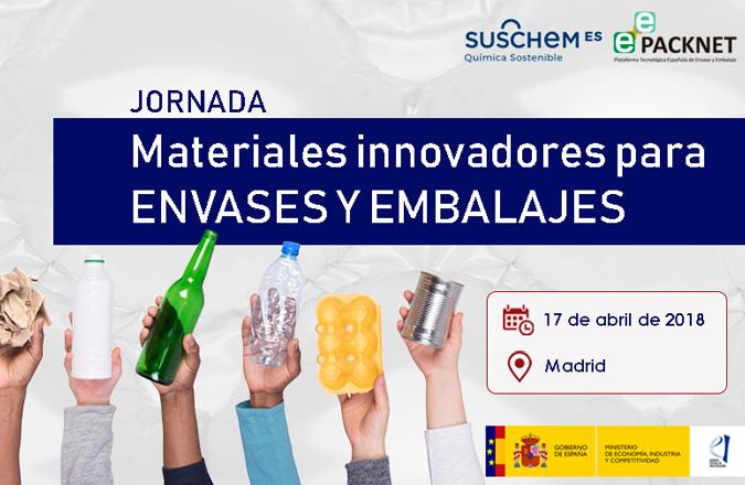 Materiales innovadores para envases y embalajes