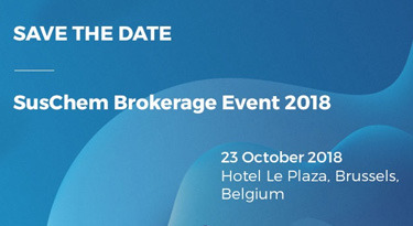SusChem Brokerage Event 2018