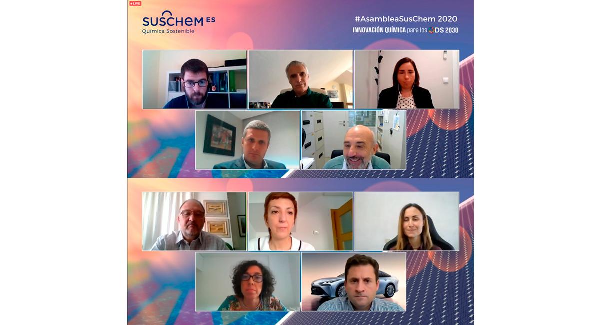 #AsambleaSuschem 2020 | Los ODS y el Green Deal sólo serán posibles con la contribución de la innovación de la industria química