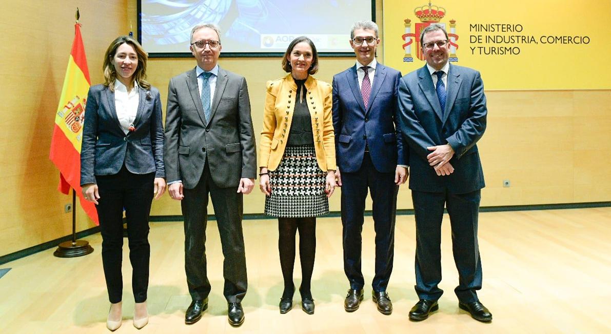 El min. de Industria, Comercio y Turismo y las industrias Química y del Refino presentan su Agenda Sectorial para el impulso de la industria española