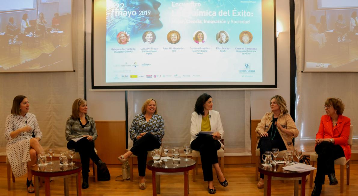 5 mujeres químicas triunfadoras en la investigación, la empresa, la academia y la divulgación nos dan las claves para motivar a las generaciones futuras