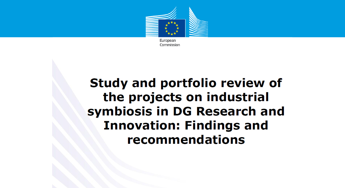 Study and portfolio review of the projects on industrial symbiosis | DG RTD