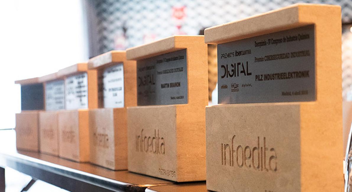 Cepsa, BASF, Pilz, Martin Brainon y el CTCR, entre los ganadores de la IV edición Premios Iberquimia Digital