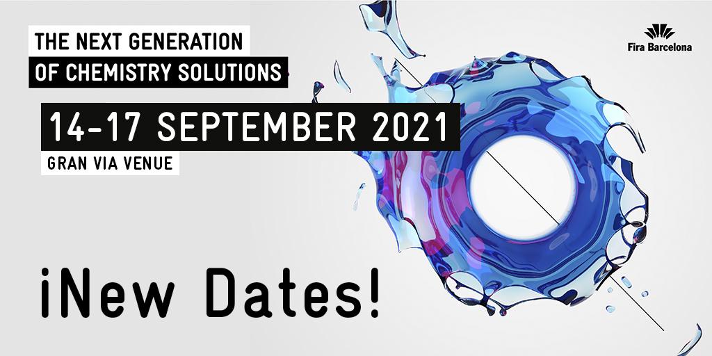 Expoquimia tendrá lugar en septiembre de 2021 de acuerdo con el sector