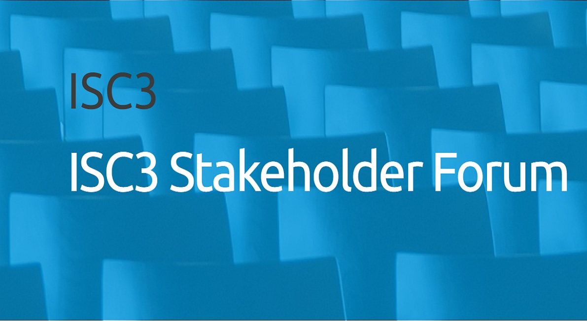 2nd ISC3 Stakeholder Forum