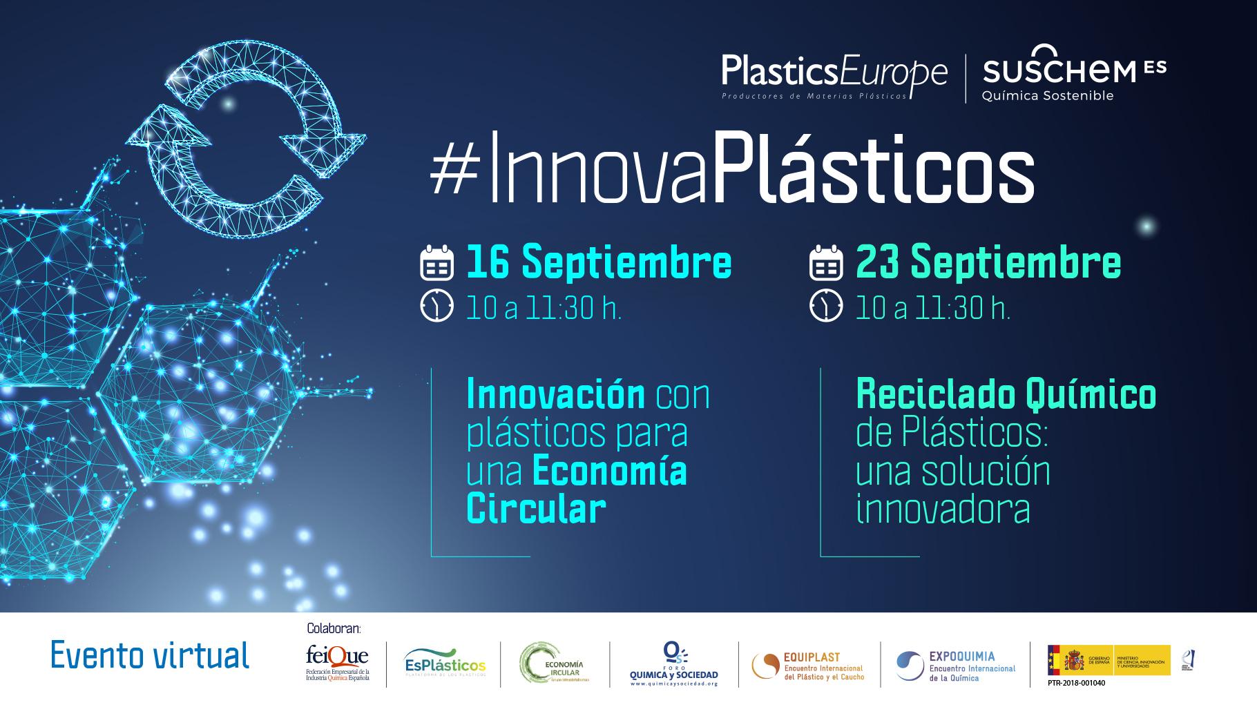 #InnovaPlásticos: Reciclado Químico de Plásticos. Una Solución Innovadora