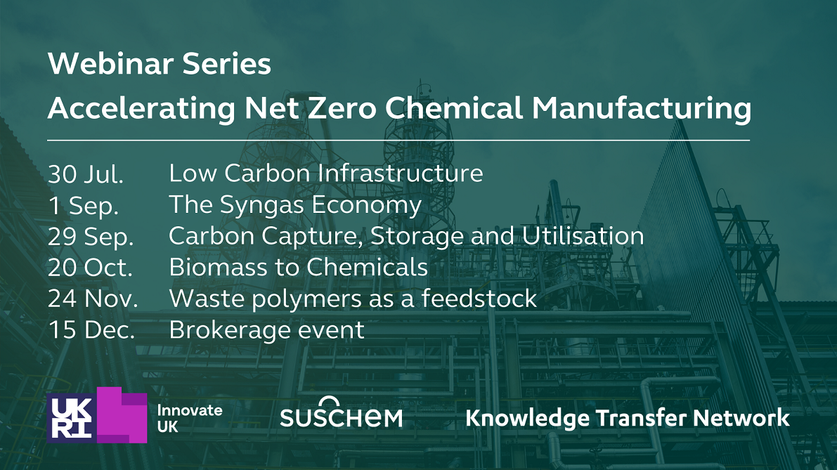 Brokerage Event: Accelerating Net Zero Chemical Manufacturing