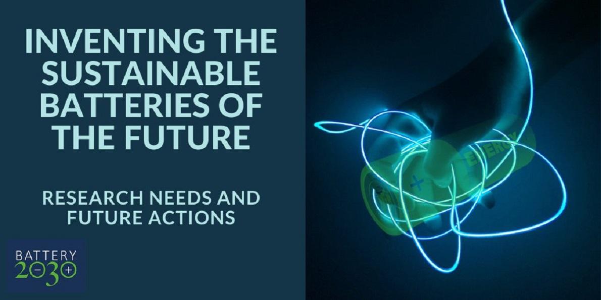 Battery 2030+: I+D para las baterías sostenibles del futuro