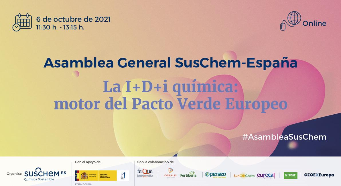 Asamblea General SusChem-España 2021