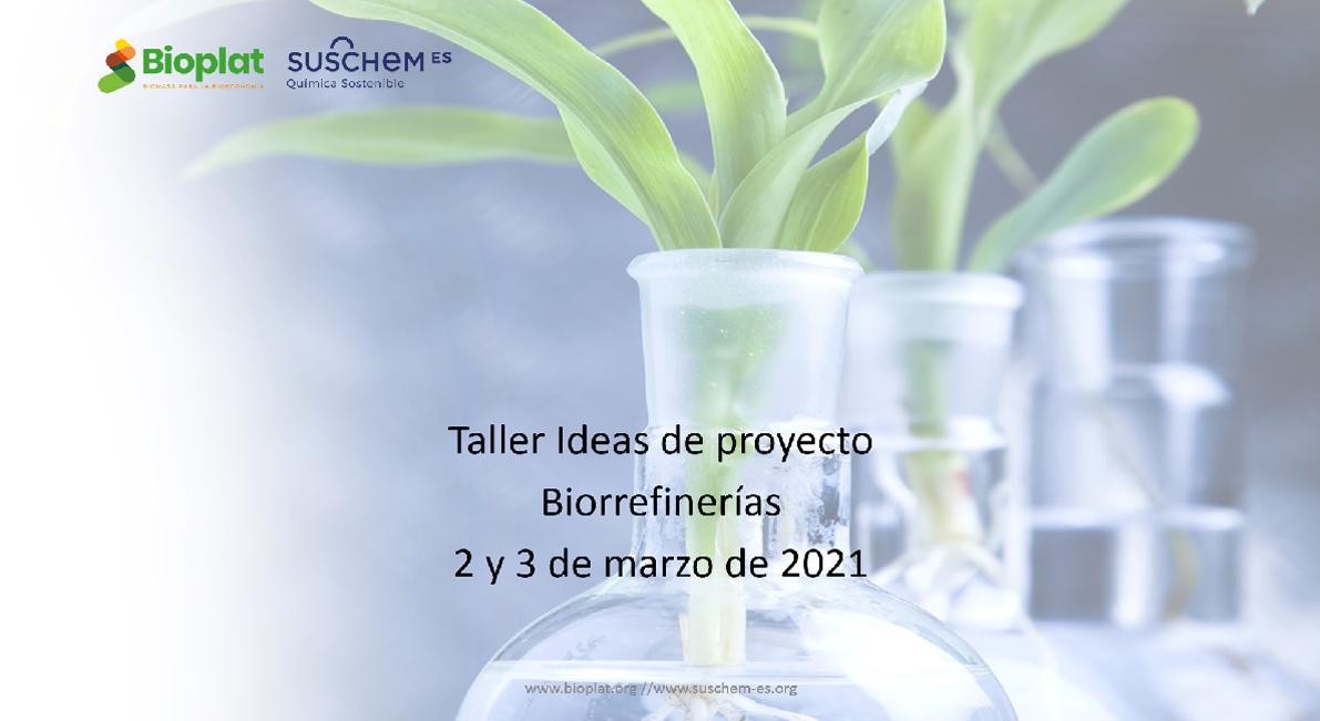 Gran interés en impulsar el desarrollo de las biorrefinerías en España a través de la I+D+i público – privada