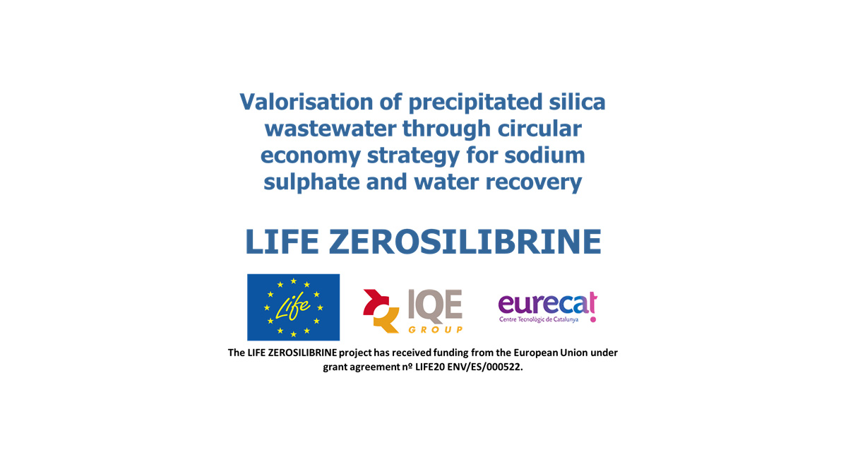 IQE inicia el Proyecto Europeo LIFE ZEROSILIBRINE