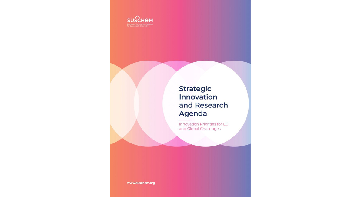 SusChem Identifies Key Technology Priorities to Address EU and Global Challenges in its New Strategic Research and Innovation Agenda