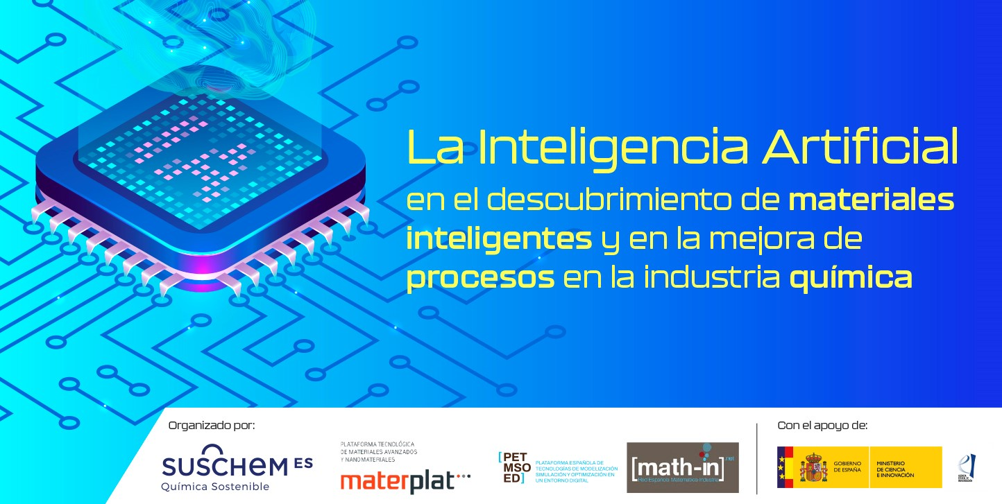 Inteligencia artificial en el desbubrimiento de materiales inteligentes y en la mejora de procesos en la industria química