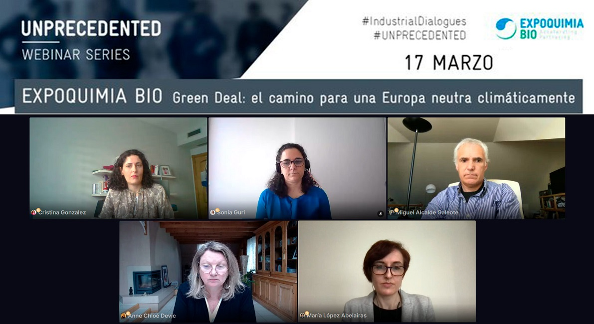 Química y Biotecnología: elementos fundamentales para el éxito del Green Deal