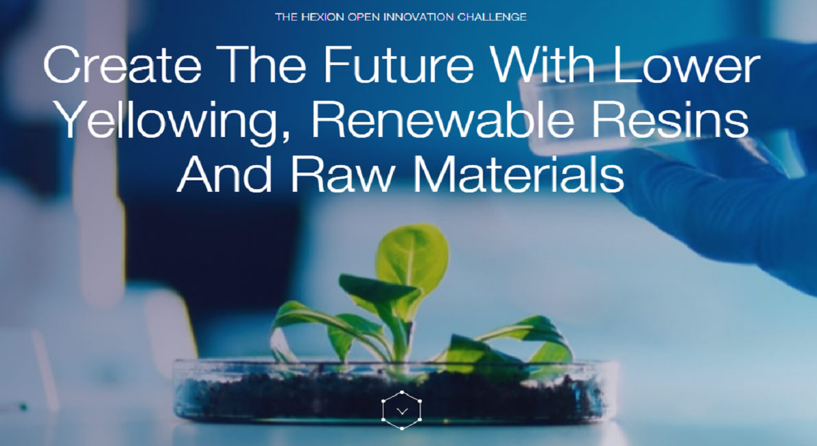 Innovative Chemistry, Create the future with renewable raw materials, polymers and resins for improved UV resistance